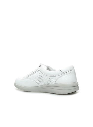Divarese Divarese 5024358 Erkek Deri Ayakkabı Beyaz